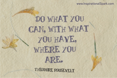 Do What You Can - Roosevelt