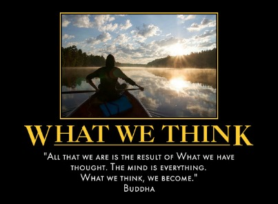 What we think we become Quote