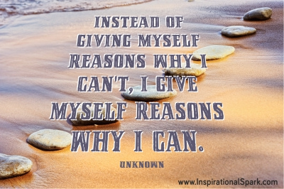 Instead of Giving Myself Reasons Quote